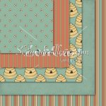 Spring Bears '10 12x12 Background Papers 1
