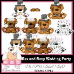 Rex and Roxy Wedding Party