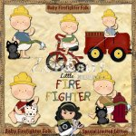 Baby Firefighter Folk Special Limited Edition