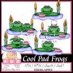Cool Pad Frogs